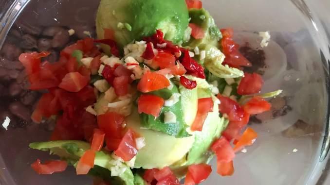 Zubereitung Guacamole Avocado Dip