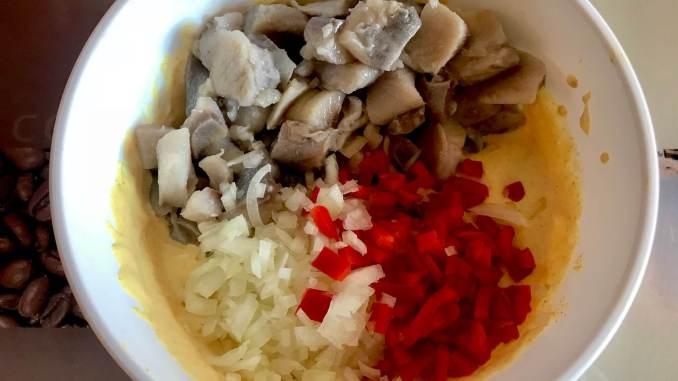 Zubereitung Curry Heringshappen