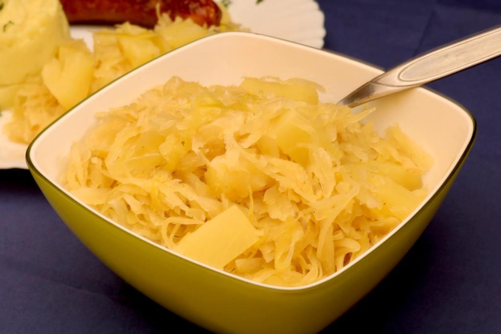 Sauerkraut mit Ananas Stückchen