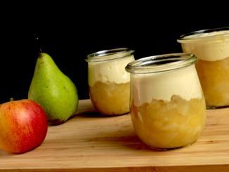 Einfaches Birnen Apfelmus Rezept