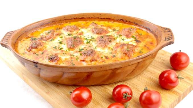 Toscana Hackbällchen mit Mozzarella Käse