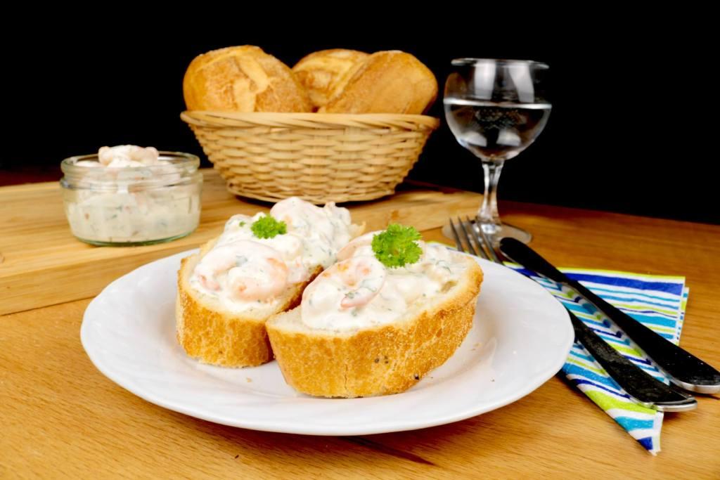 Einfach und Lecker Knoblauch Garnelensalat