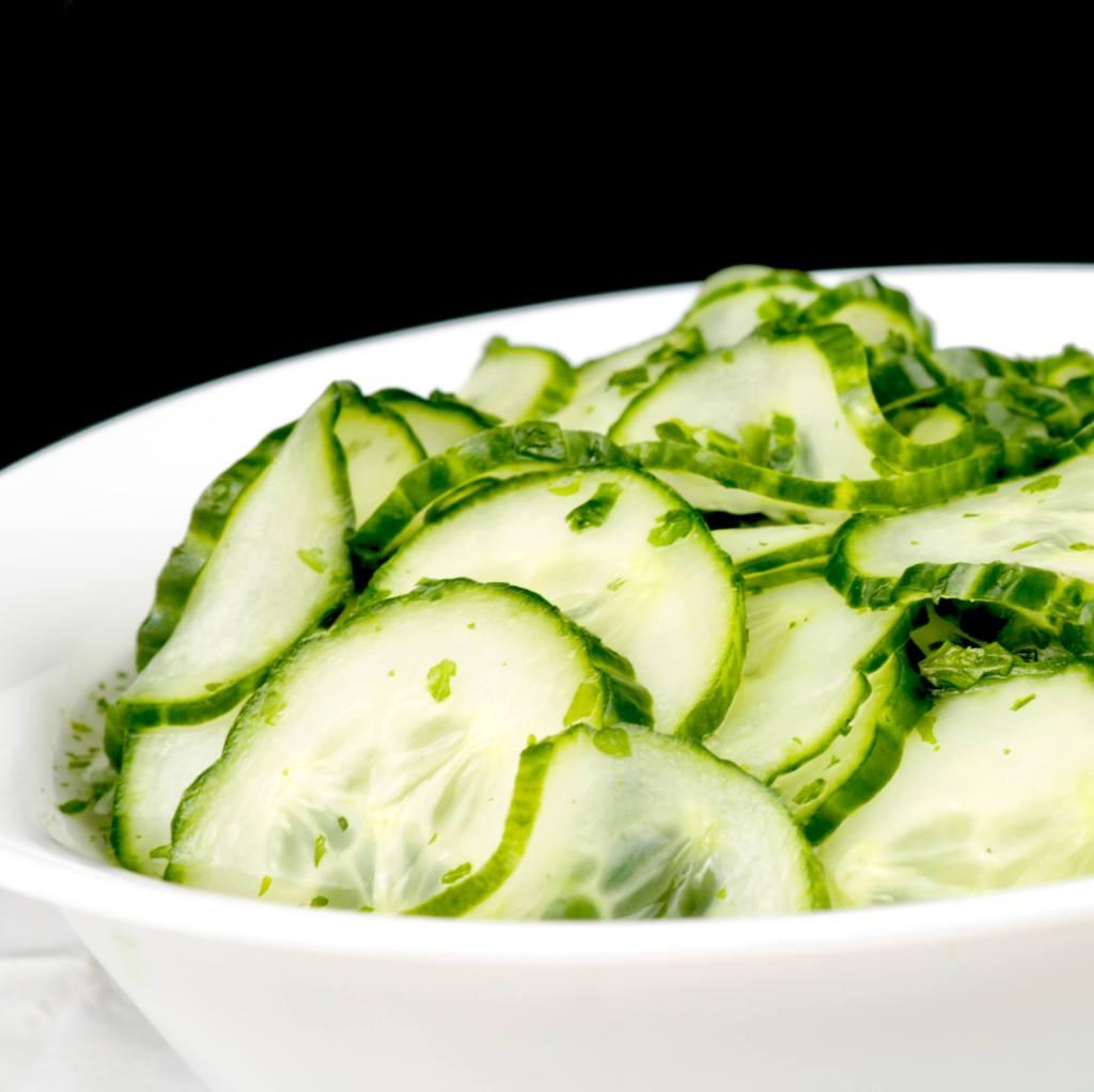 Zubereitung Dänischer Gurkensalat