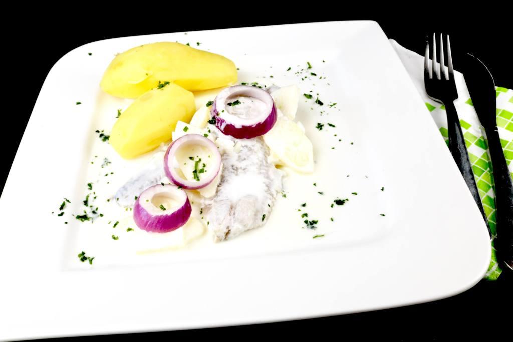 Einfaches Fisch Gericht Omas Sahnehering Rezept