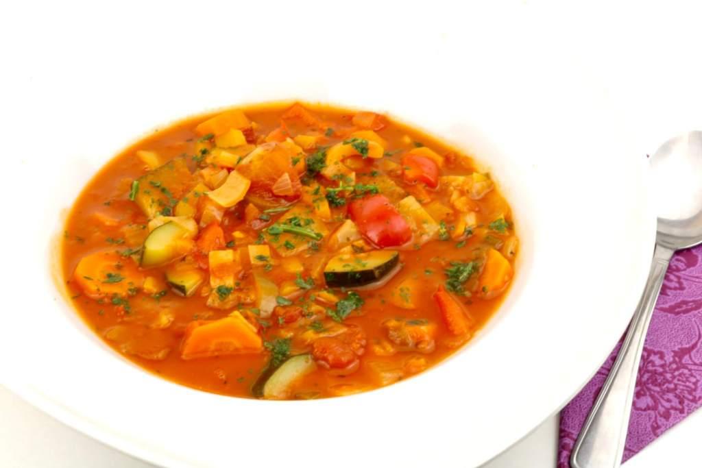 Gemüse Eintopf mit Zucchini