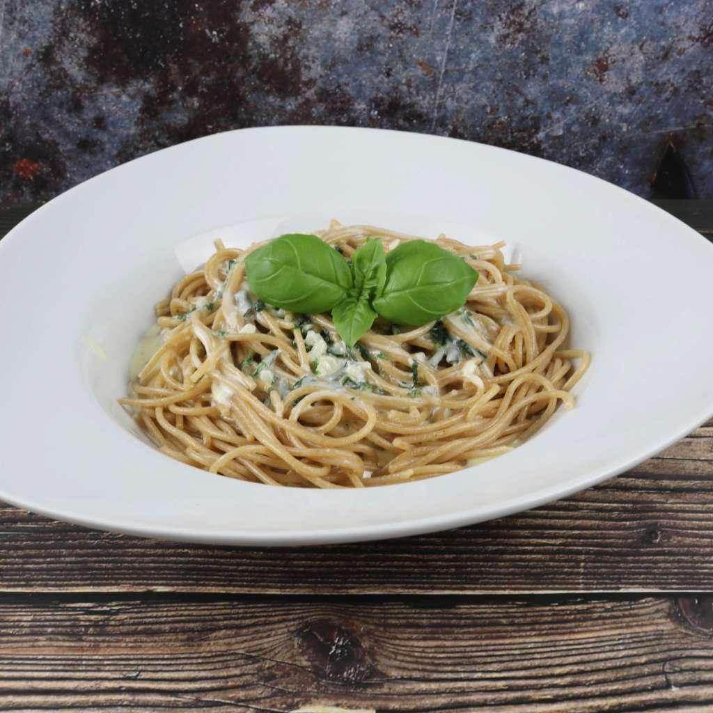 Pasta mit cremiger Gorgonzola Sauce
