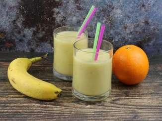Bananen Orangen Kokos Smoothie