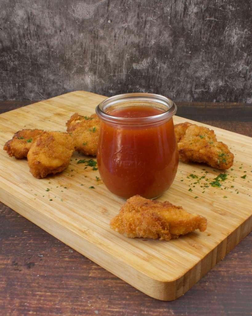 Serviervorschlag Süß Sauer Sauce