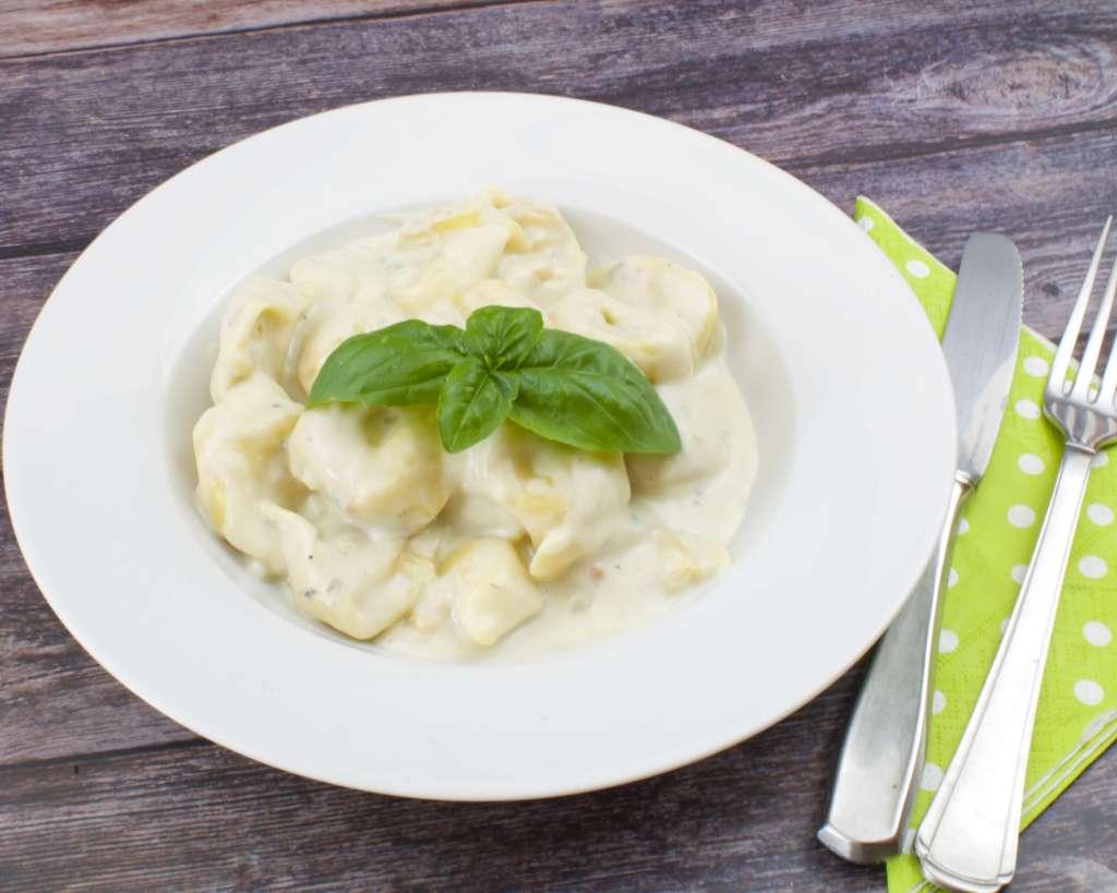 Tortellini in cremiger Gorgonzola Sauce