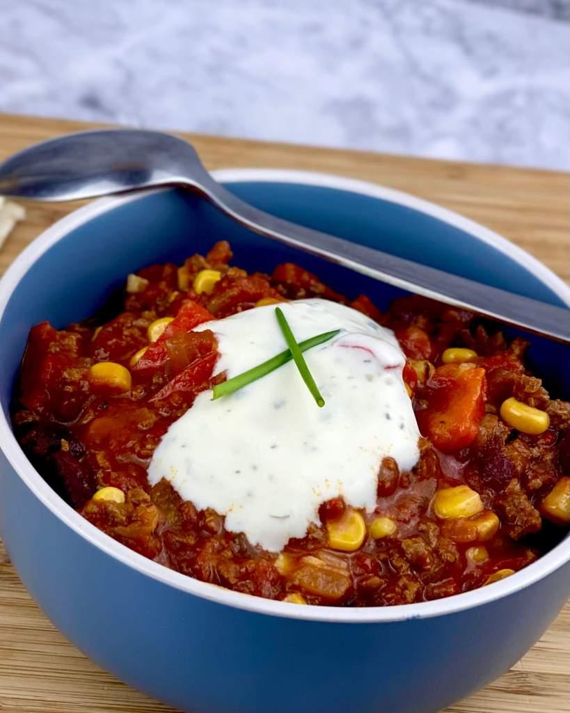 Zubereitung Vegetarisches Chili Con Carne