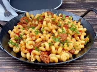 Chorizo Pasta Pfanne