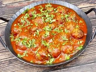 Mini Curry Frikadellen