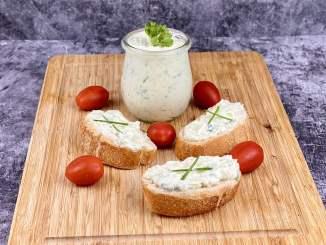 Kräuter Knoblauch Feta Käse Dip