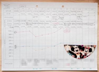 hanaの貯金簿画像