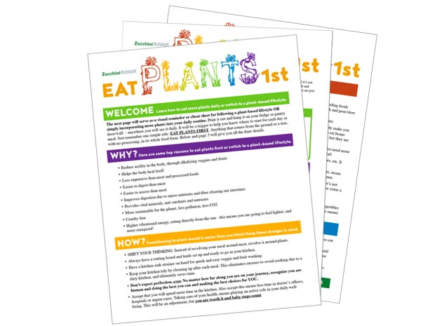 quick start guide to plant-based eating