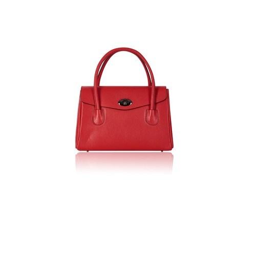 medium tote bag red