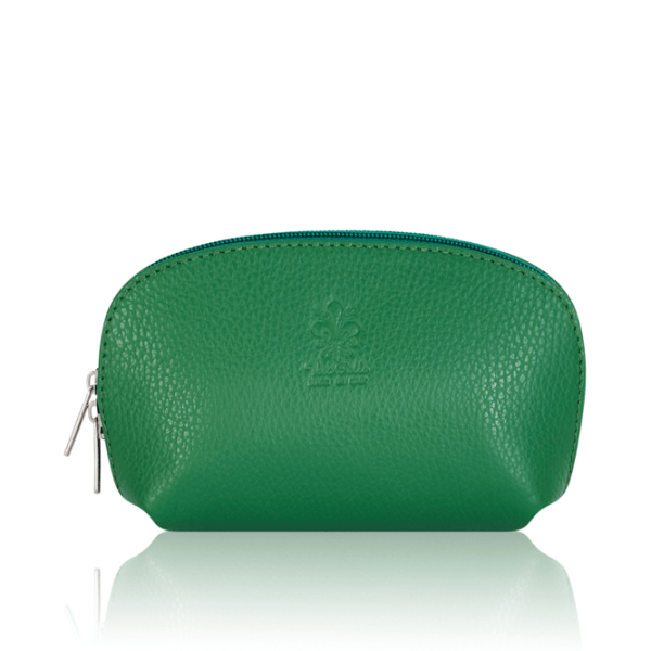Leather Evening Purse Green