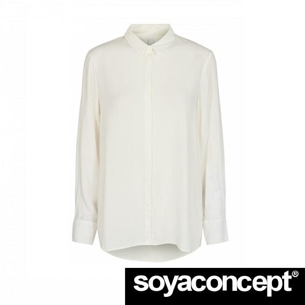 Radia Shirt Cream SOYACONCEPT - front 1