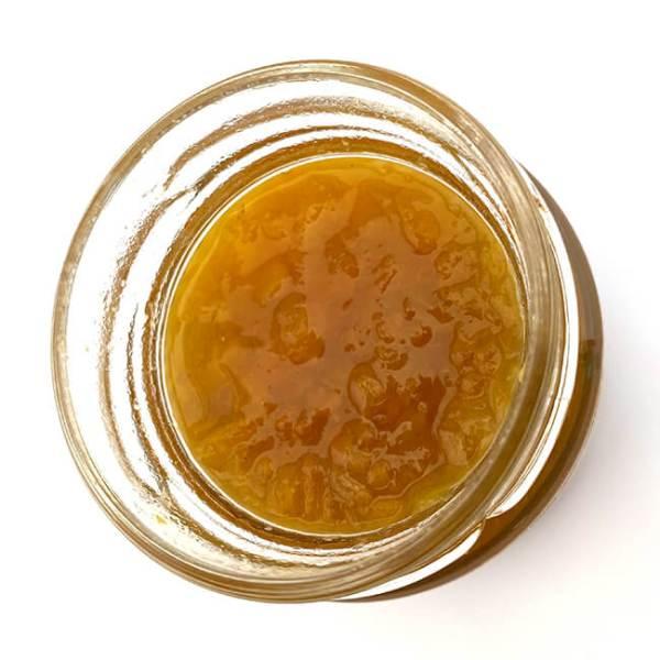 Birkengold Fruchtaufstrich Marille (Aprikose), kalorienreduziert, ohne Zucker Zusatz, gesüßt mit Xylit