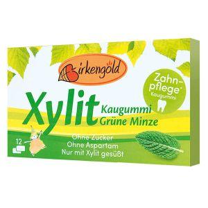 Xylit Kaugummi grüne Minze 12 Dragees, Xylitkaugummi kaufen & bestellen.
