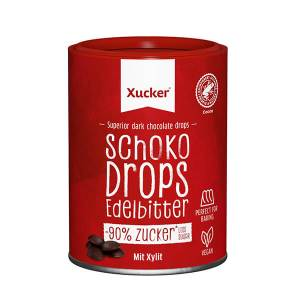 Xylit XUCKER Schoko Drops 200 g Dose kaufen