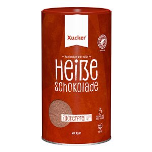 "Xucker ""Hot Chocolate"" Trinkschokoladen-Pulver, Trinkschokolade Xucker, Xucker Trinkschokolade kaufen"
