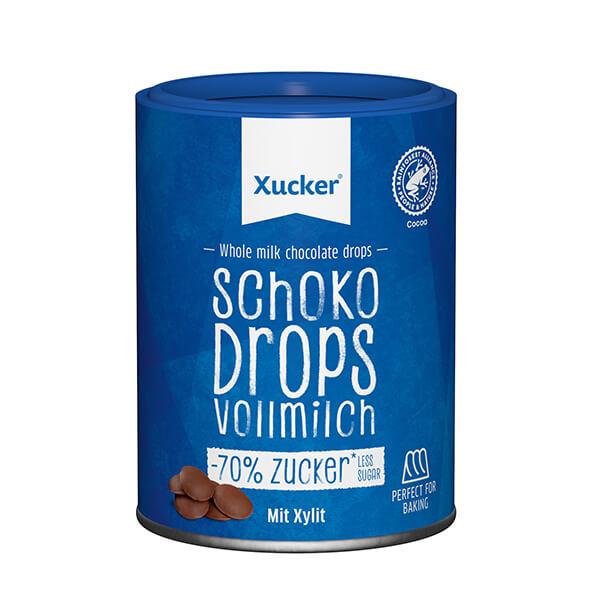 XUCKER Schoko Drops Vollmilch 200 g Dose kaufen