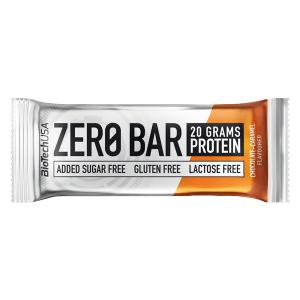 Biotech USA Zero Bar Schokolade-Karamell Proteinriegel 50 g, zuckerfreier Zero Bar Riegel mit 20 g Protein / Eiweiß. Eiweißriegel Zero Bar Biotech kaufen. zero bar biotech, biotech zero bar, biotech usa zero bar