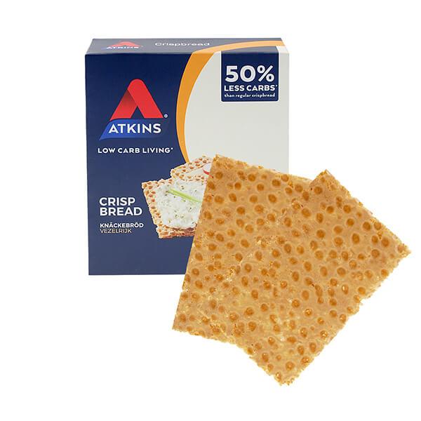 Atkins Knäckebrot Crispbread 100 g, Atkins Knäckebrot kaufen, Low Carb Brot kaufen