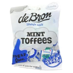 De Bron zuckerfreie Pfefferminztoffees Mint Toffees 90 g, De Bron zuckerfreie Pfefferminztoffees Mint Toffees 90g,. Zuckerfrei, glutenfrei, natriumarm, erfrischend minzig. De Bron Toffees ohne Zucker.