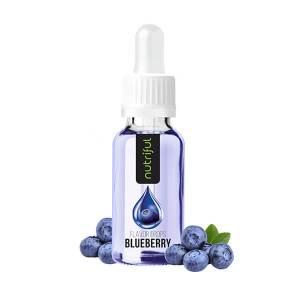 Nutriful Flavor Drops Blaubeere 30 ml kaufen. Nutriful Flavor Drops Blaubeere, kalorienfreies Geschmackskonzentrat aus Aroma & Süßstoff, Speisen & Getränke!