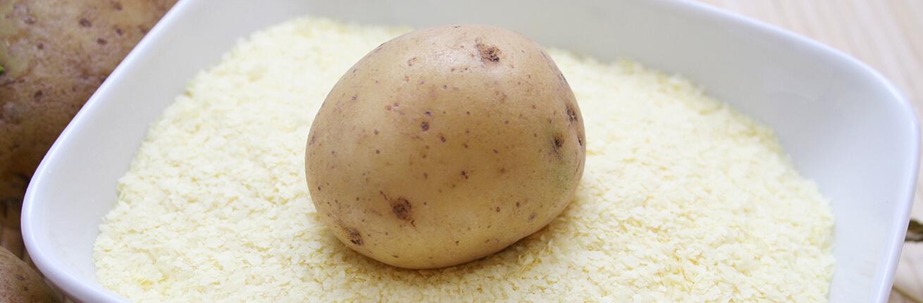 Kartoffelfasern kaufen (Pofiber kaufen). Low Carb Kartoffelfasern sind ideal zum Kochen, Backen und Andicken. Kartoffelfasern zur Low Carb Ernährung / LCHF!