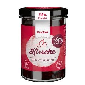 XUCKER Kirsche Fruchtaufstrich mit Xylit 74% Frucht 220g kaufen. Xucker