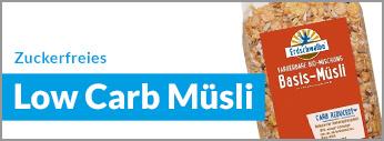 Zuckerfrei Online Shop, Low Carb Müsli ohne Zucker