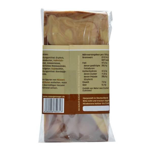 Zuckerfreie Schokolade mit Erythrit gesüßt! 100 g Tafel. Zuckerfreie Schokolade, Schokolade ohne Zucker kaufen
