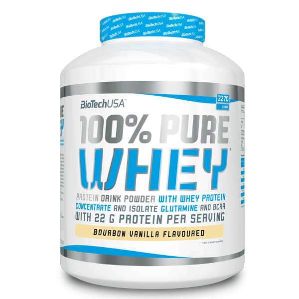 BioTech USA 100% Pure Whey Vanille 2.270 g, BioTech USA 100% Pure Whey Vanilla 2.270 g, BioTech USA 100% Pure Whey Vanille 2.270 g kaufen & online bestellen