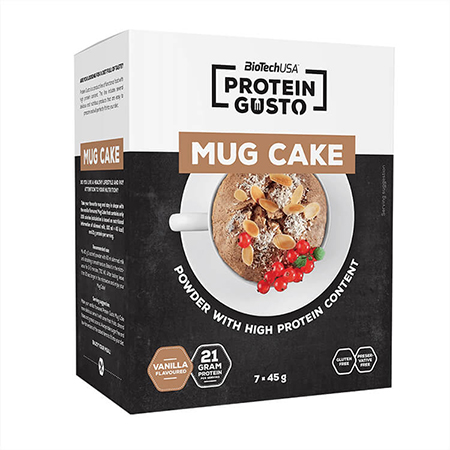 BioTechUSA Protein Gusto Mug Cake Tassenkuchen Vanille. BioTech USA Mug Cake, BioTechUSA Protein Gusto, Mug Cake Vanille, BioTech USA Protein Cake
