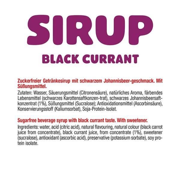 GOT7 zuckerfreier Sirup black currant schwarze Johannisbeere ml kaufen im Shop. GOT7 zuckerfreier Sirup ohne Zucker gesüßt mit Sucralose. GOT7 Sirup kaufen