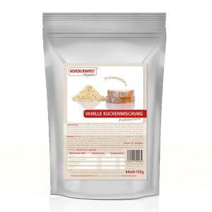 Konzelmanns Original Low-Carb Kuchenbackmischung Vanille 155 g Beutel. Low Carb Kuchen kaufen, 21,8 g Eiweiß. Low Carb Kuchen, ideal für Low Carb, LCHF.