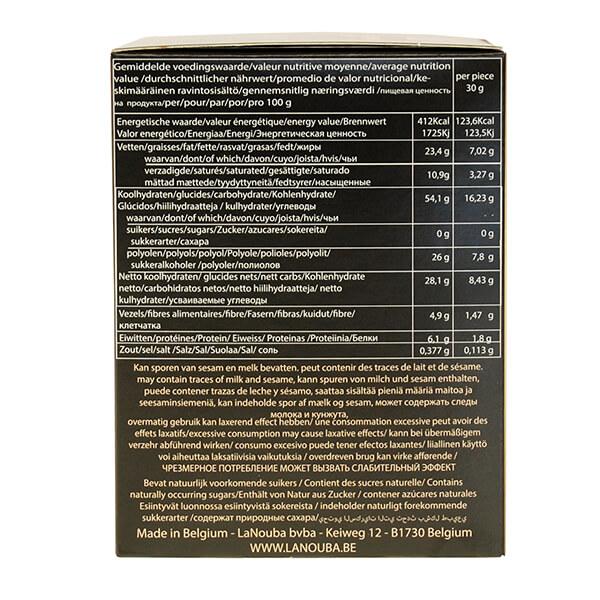 La Nouba zuckerfreie belgische Schoko-Waffeln ohne Zuckerzusatz 180 g kaufen. Low Carb Waffeln kaufen. Low Carb Waffeln La Nouba, zuckerfreie Waffeln kaufen