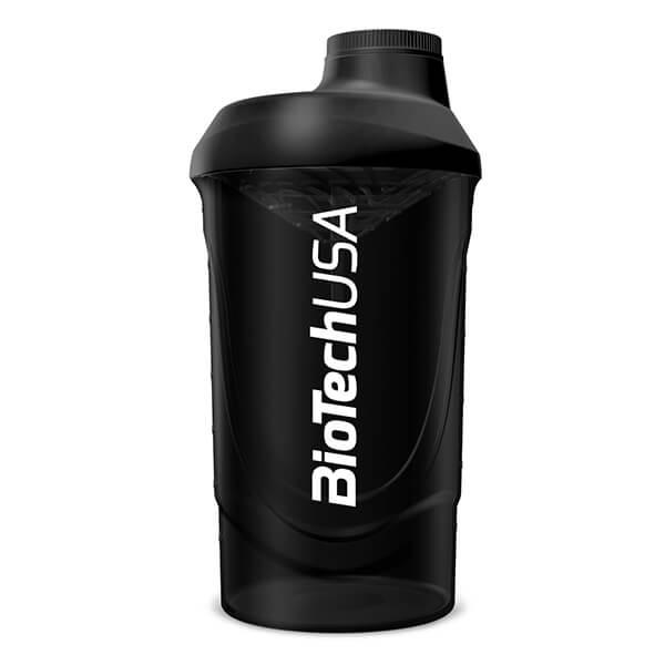 BioTech USA Shaker Wave Kunststoff 600 ml Smoked Black kaufen