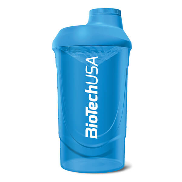 BioTech USA Shaker Wave Kunststoff 600 ml Blue kaufen