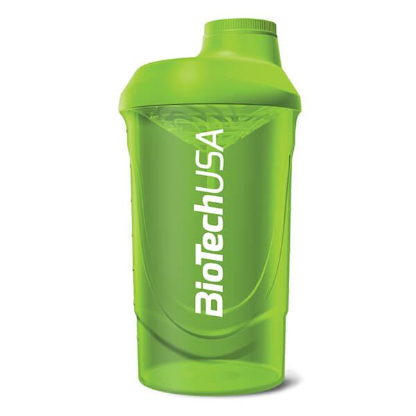 BioTech USA Shaker Wave Kunststoff 600 ml green kaufen