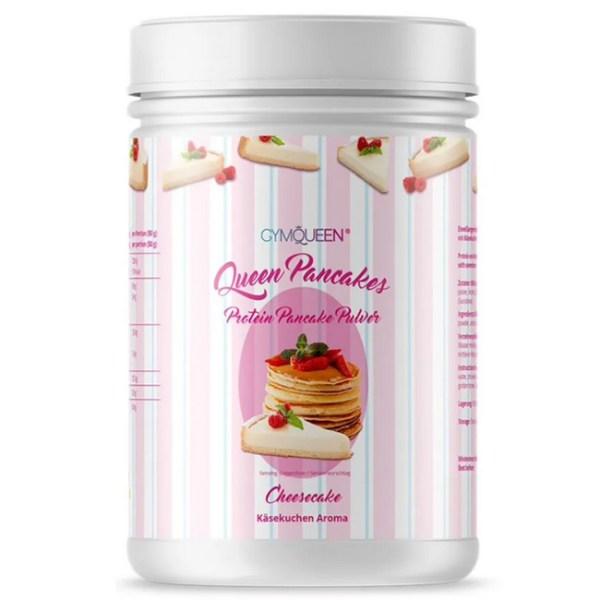 GymQueen Queen Pancakes Backmischung Käsekuchen 500 g Dose. Die Protein Pancakes / Protein Pfannkuchen im Cheescake Geschmack von GymQueen online kaufen!