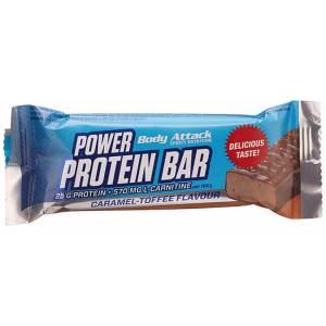 Body Attack Power Protein Bar Proteinriegel Sportriegel Karamell-Toffee 35 g. Body Attack Power Protein Bar Proteinriegel kaufen mit 9g Eiweiß, Vitamine,...