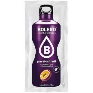 Bolero Instant Passionsfrucht Getränkepulver. Bolero Instant im 9 g Beutel kaufen! Bolero Instant Erfrischungs Getränkepulver Beutel für fertiges Getränk