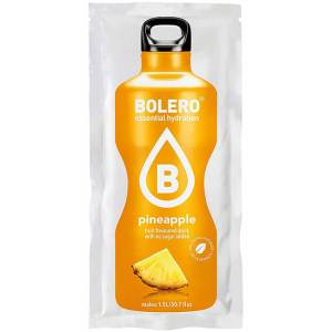Bolero Instant Ananas Getränkepulver. Bolero Instant im 9 g Beutel kaufen! Bolero Instant Erfrischungs Getränkepulver Beutel für fertiges Getränk