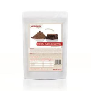 Konzelmanns Original Low-Carb Kuchenbackmischung Schokolade 155 g Beutel. Konzelmanns Low Carb Kuchen kaufen. Kuchenbackmischung kaufen / Konzelmanns kaufen