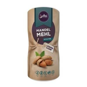 Soulfood Lowcarberia Mandelmehl entölt glutenfrei laktosefrei 700 g Dose. Mandelmehl als glutenfreier Low Carb Mehlersatz. zum Kochen, Backen & Verfeinern!