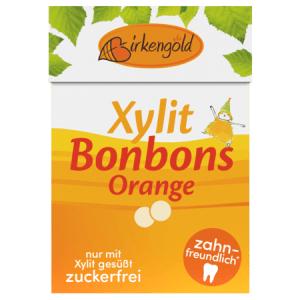Xylit Bonbons mit fruchtigem Orangengeschmack kaufen im Online Shop